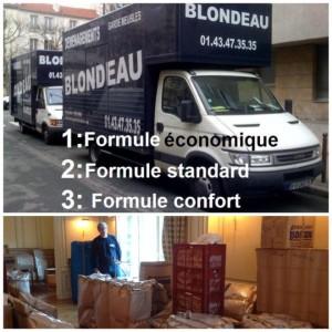 Un déménageur à Paris